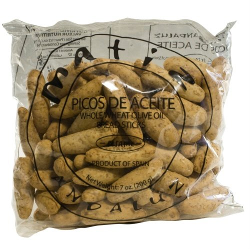 Traditional Spanish Picos de Aceite, Whole Wheat Mini breadsticks 6.4 oz
