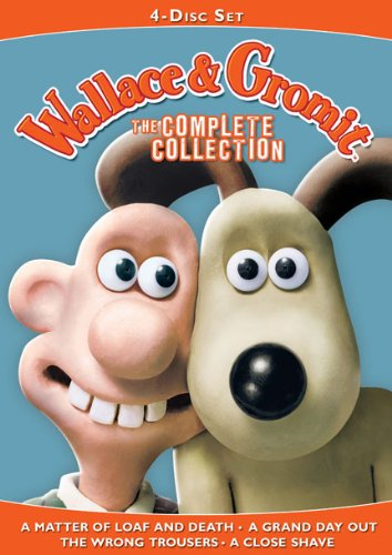 Wallace & Gromit: The Complete Collection (A Matter of Loaf and Death / A Grand Day Out / The Wrong Trousers / A Close Shave)