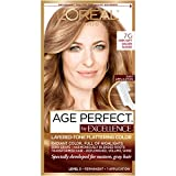 L'Oreal Paris Age Perfect Permanent Hair Color, 7G Dark Natural Golden Blonde, 1 kit