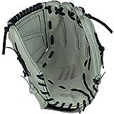Marucci Spiral Web Softball Utility Gloves (Gray/Black), 12', Worn on right hand