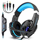 Casque Gamer LESHP Micro Casque PS4 Gaming, Casque Gaming avec Micro pour PC PS4 Xbox...