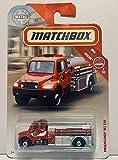 Matchbox 2018 Freightliner M2 106 Red #48/100...