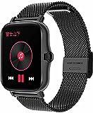 CNZZY Y20 Smart Watch Orologio da donna da 1,7 pollici con pressione sanguigna frequenza cardiaca Smart Watch Fitness Tracker contapassi impermeabile da uomo Smart Watch P8 Plus per Android IOS(F)