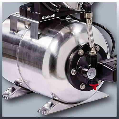 Einhell Groupe de surpression GC-WW 1250 NN (1200 W, Hauteur de refoulement 50 m, Hauteur d'aspiration 8 m, Pression 5 bar, Pression de démarrage max. 1,5 bar)