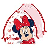 ARDITEX WD13590 Bolsa Merienda 26.5X21.5cm de Disney-Minnie