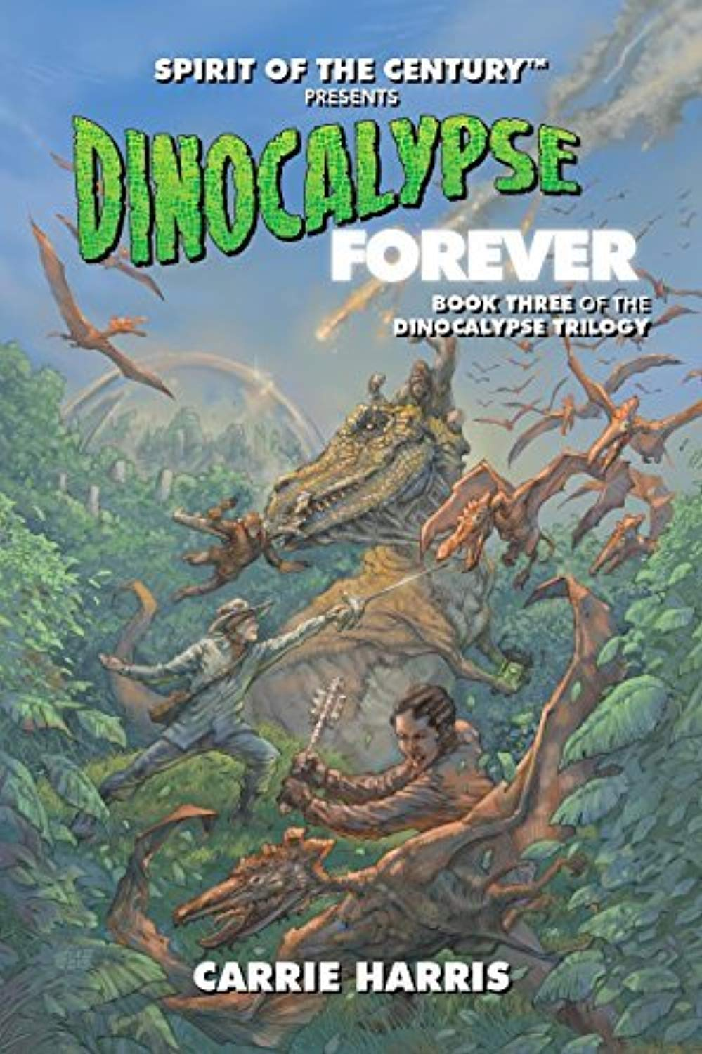 Dinocalypse Forever libro 3 RPG Evil Hat Productions by Evil Hat Productions