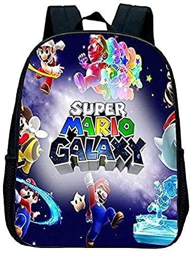 Mochila temática de Super Mario Bros, personalizable, única, adecuada para niños de 3 a 22 años, independientemente del sexo, 05, 16' (40.6cm),
