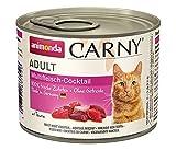 animonda Carny Adult Katzenfutter, Nassfutter für ausgewachsene Katzen, Multifleischcocktail, 6 x 200 g