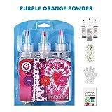 Kit de tinte con bandas de goma, guantes protectores, botellas de tinte no tóxicas, para hacer manualidades y ropa de grafiti permanente, de un solo paso, para niños