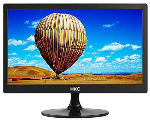 HKC MR17S HD Monitor 17 Zoll (HD Ready 1.600 x 900, HDMI, VGA, TN Panel, 60Hz), schwarz