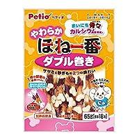 ペティオ (Petio) 犬用おやつ やわらか ほね一番 ダブル巻き チキン 65g