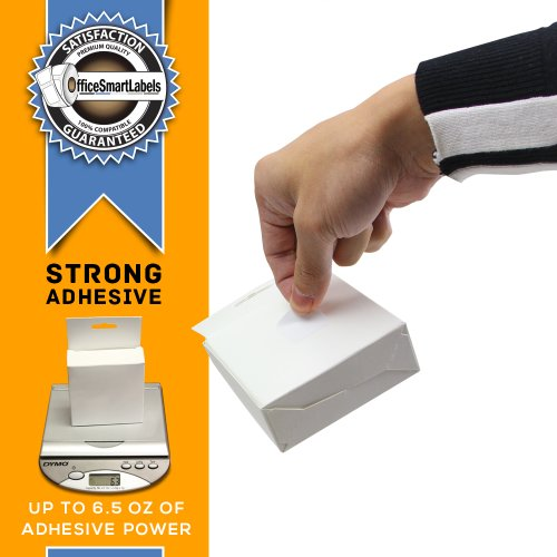 """OfficeSmartLabels - 1"""" x 1"""" Multipurpose Labels, Compatible with 30332 (1 Roll - 750 Labels Per Roll) Photo #7"""