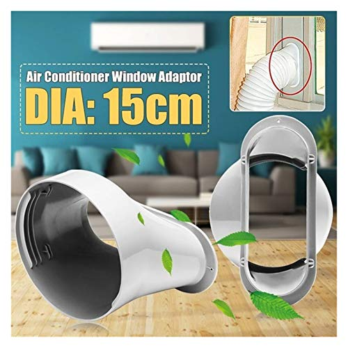 XIAOSHI Little Oriental Newest 6' Window Adaptor Connector Exhaust Hose Window Slide Kit Plate For Portable Air Conditioner Air Conditioning Accessories (Color : Window Adaptor)