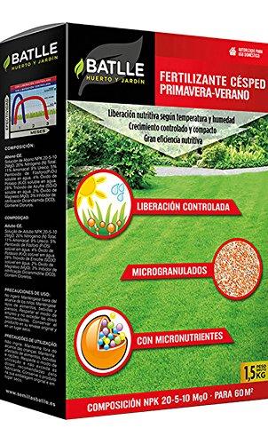 Abonos - Fertilizante Cesped Primavera-Verano 1,5kg - Batlle