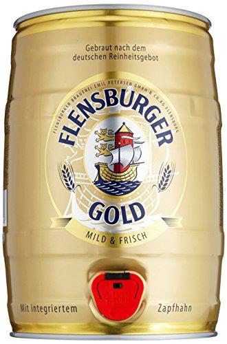 Flensburger Gold Partyfass Pils (1 x 5 l)
