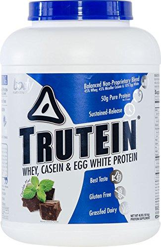 Body Nutrition Trutein Chocolate Mint Protein Powders, 4 lb