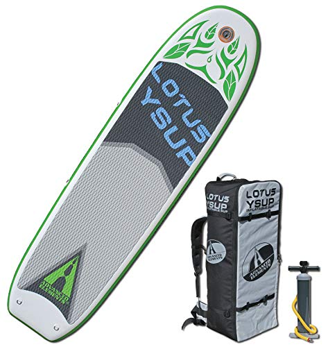 ADVANCED ELEMENTS Lotus Yoga Inflatable Stand Up Paddle Board & Pump
