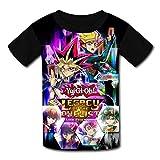 maichengxuan T-Shirt Kurzarm Kinder T-Shirt Yu_Gi_Oh Grafik T-Shirt für Mädchen Jungen