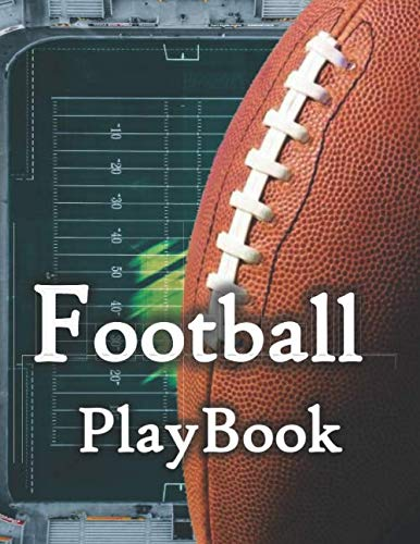 Football Playbook: Rugby Coach Notebook 120 Page Notebook To Create Your Play with Field Diagrams for Drawing Up Plays 8.5 x 11 inches,template,designer,Rugby