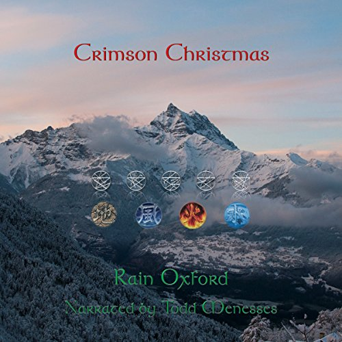 Crimson Christmas audiobook cover art