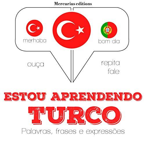 Estou aprendendo turco audiobook cover art