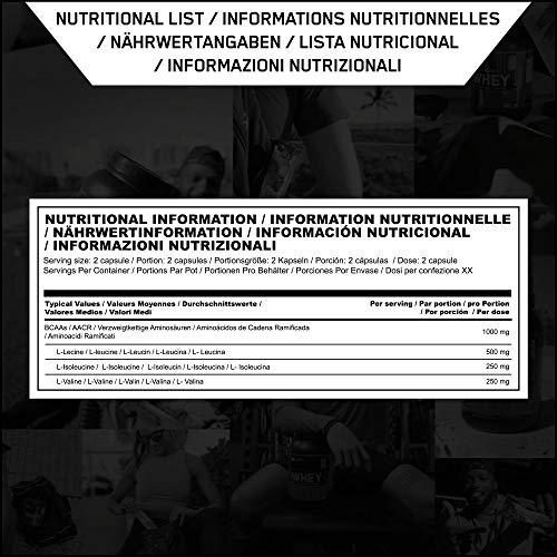 Optimum Nutrition BCAA 1000- 400 Kapseln , 1er Pack (1 x 400 g) - 8