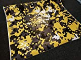 SignSomething Yellow Digital Camouflage, Vinyl Wrap, Vehicle Wrap for Car, Truck, & Boat (Glossy, 5'x25')