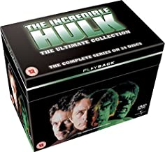 The Incredible Hulk (Complete Series) - 24-DVD Box Set ( The Incredible Hulk (Seaons 1 - 5) ) [ Origen UK, Ningun Idioma Espanol ]