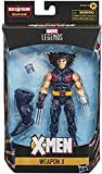 COLLECTOR Marvel X Men Legends- The Age of Apocalypse- Weapon X- Collect The Set to Build Sugar Man! Action Figure with Accessories, Approx 6