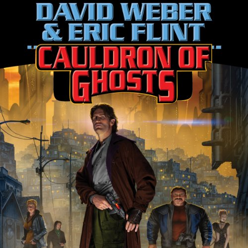 Cauldron of Ghosts audiobook cover art