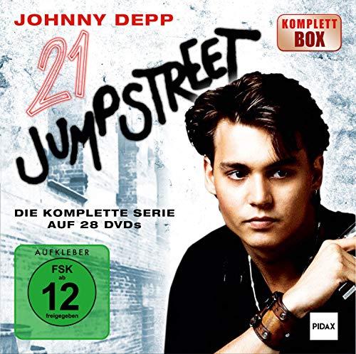21 Jump Street - KOMPLETTBOX / Die komplette Kult-Serie mit Johnny Depp (Pidax Serien-Klassiker) [28 DVDs]