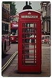 SuperStudio LO+DEMODA Cuadro de Metal Impreso, diseño Vintage Kiosk 6, 20 x 30 cm, Multicolor, 0.3x30x20 cm