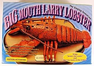 Gemmy Big Mouth Larry Lobster The Singing Sensation