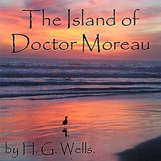 The Island of Dr. Moreau audiobook cover art