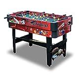 Carromco Multigame 14 in 1 Spieletisch - Multifunktionstisch mit 14 Tischspielen - flexibel einsetzbar als Tischfußball Kicker, Billardtisch, Tischhockey und für Tischtennis - inkl. komplettem Zubehör