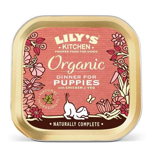 Cuisine bio Dîner de Lily pour chiots - Foil Tray (150g) - Paquet de 6