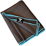 Sticky Grip Yoga Towel - Best Non-Slip Towel for Hot Yoga - Anti-Slipping, Sweat Absorbent Microfiber Towels with...