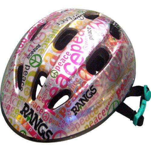 Lang Japan RANGS Lang Junior Sports Helmet piece Silver / Pink SG standard acceptable product (japan import)