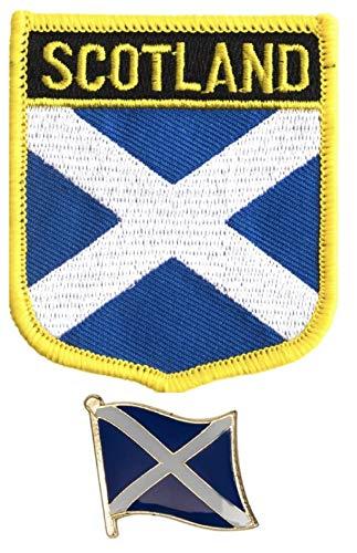 Tanto Badges Parche Bordado Bandera Escocia Coser