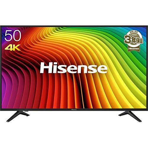 『ハイセンス Hisense 50V型 4K対応液晶テレビ -外付けHDD録画対応(裏番組録画)/メーカー3年保証- 50A6100』のトップ画像