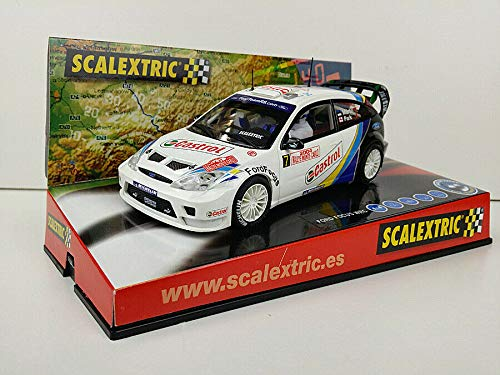 Slot Car Scalextric 6147 Compatible Ford Focus WRC #7 Rally