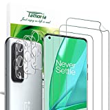 [3+3 Pack] Tamoria OnePlus 9 Pro Soft TPU Screen Protector + 3D Tempered Glass Camera Lens Protector, Screen Cover with Installation Kit Fingerprint Unlocked Compatible for Oneplus 9 Pro