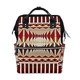 Mochila cambiador de pañales multifunción para mamá y papá, mochila de viaje, escuela, niño, niña, gran capacidad Color-4 Talla:talla única