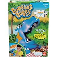 Goliath Games Burping Bobby: The Feed The Hippo But Watch Out for His Burrrp! Game