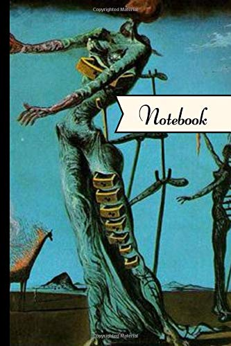 Notebook: The Burning Giraffe ~ Salvador Dali Inspired Notebook/Journal With 120 Lined Pages 6