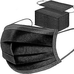 3 couches de protection : nos masques filtrants de haute qualité garantissent une barrière physique contre la fumée, les gouttes, la saleté, la poussière et la poudre. Avec le nouveau design à 3 couches, il peut aider à bloquer la pollution afin que ...