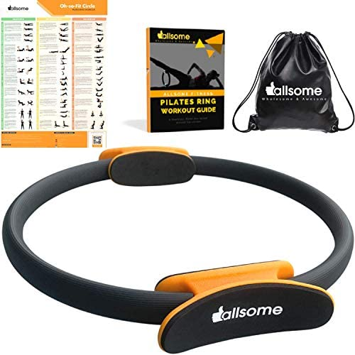 Pilates Ring 14 Inch Fitness Studio Grade Toning Inner Thigh Exercise Equipment Sturdy Resistance product image