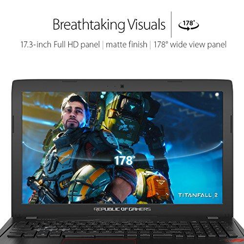 "ASUS ROG Strix GL753VD 17.3""  Gaming Laptop GTX 1050 4GB Intel Core i7-7700HQ 16GB DDR4 1TB 7200RPM HDD RGB Keyboard"