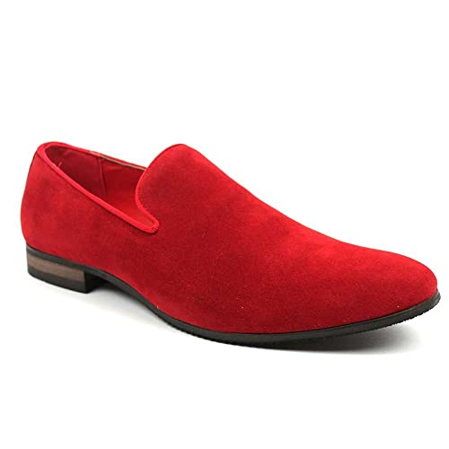 f2a52b8b05a AZAR MAN Men s Slip on Loafers Modern Dress Shoes Azar Black