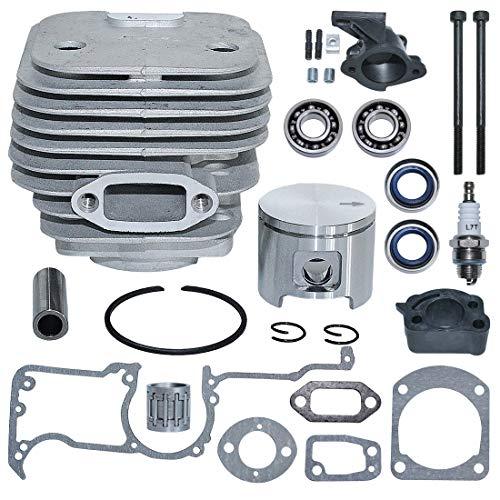 AUMEL 503 53 20 71 48mm Nikasil Cylinder Piston Crank Bearing Kit For Husqvarna 61 268 272 Jonsered 630 625 Chainsaw Oil Seal Gasket.